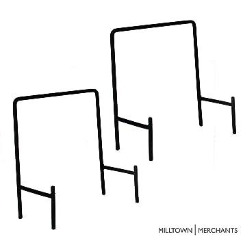 Amazon.com Milltown Merchants trade; Metal Display Stand - Plate Stand/Plate Holder - Black Metal Plate Stand - Portable Display Rack for Trade Shows ...  sc 1 st  Amazon.com & Amazon.com: Milltown Merchants trade; Metal Display Stand - Plate ...