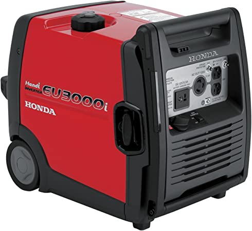 small portable generator: Honda EU3000iS