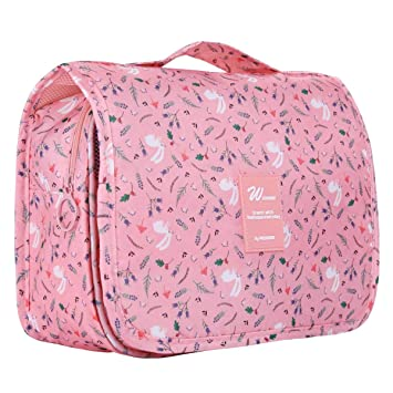 Amazon.com   Multifunctional Make up Bag Brush Pouch Storage Toiletry Wash  Bags Travel Cosmetic Bags Portable Travel Makeup Case Organizer For Women  Girls ... 6b39babf47