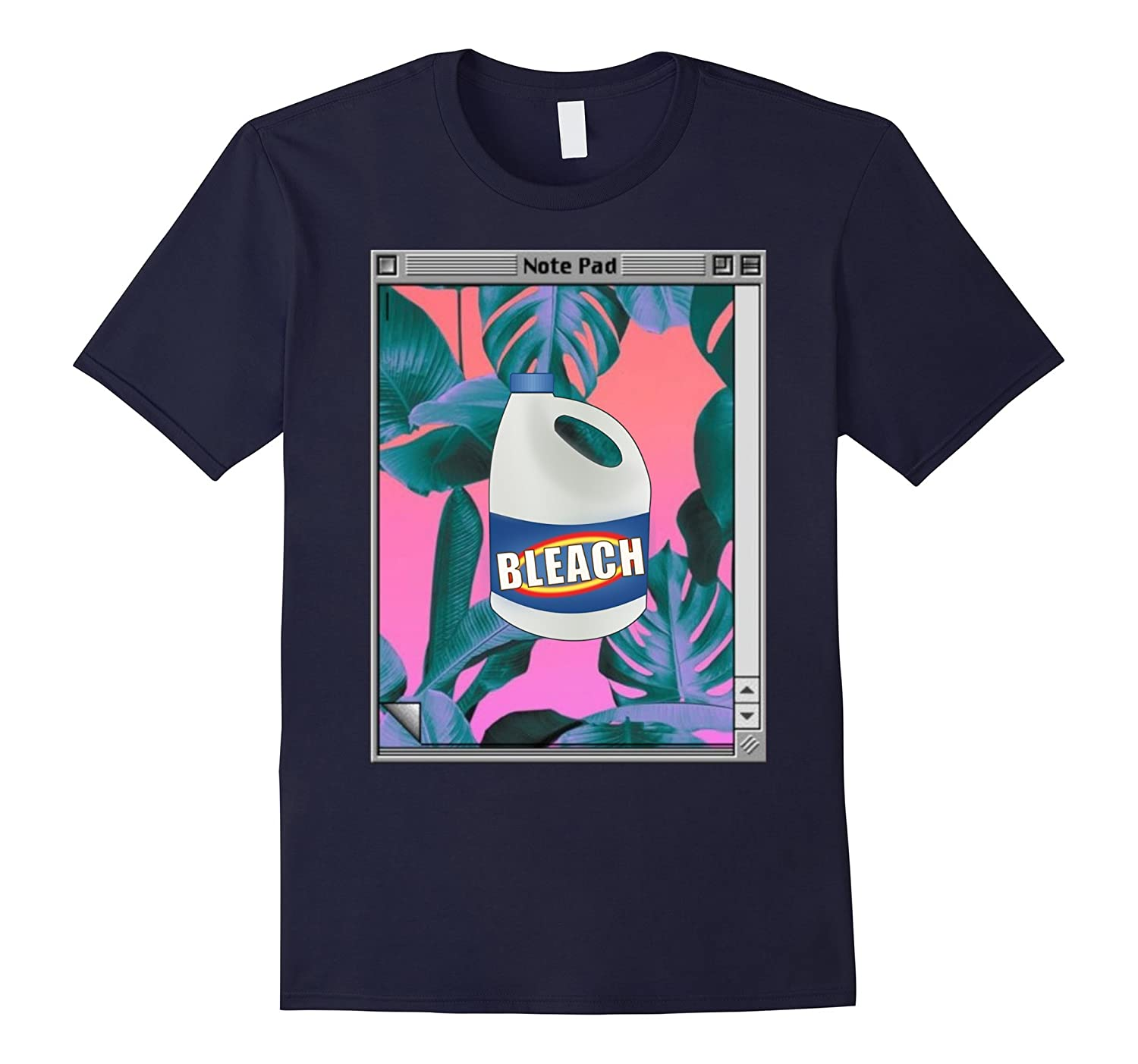 Vaporwave Aesthetic Bleach T-Shirt-BN
