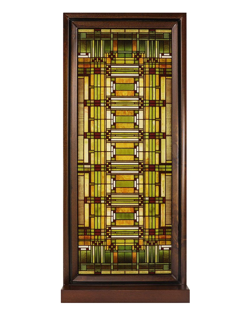 Frank Lloyd Wright Oak Park Skylight Stained Glass Truth in Glass