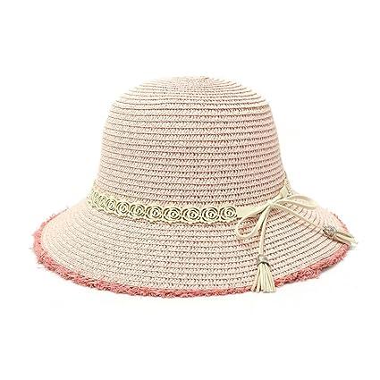 ZUOANCHEN Sombrero De Verano De Sun Hat Para Mujer De Ala Ancha Sombreros  De Playa Sexy 70d927b82ec