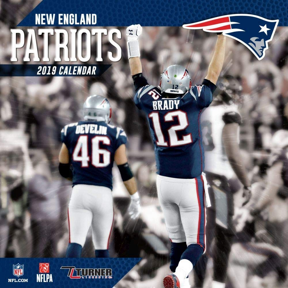 photograph regarding New England Patriots Printable Schedule known as Fresh new England Patriots 2019 Calendar: Inc. Lang Expert services