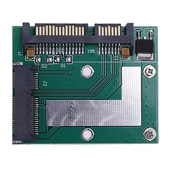 5 cm altura de la mitad Mini PCI-E SSD mSATA a 2,5 en SATA3 ...