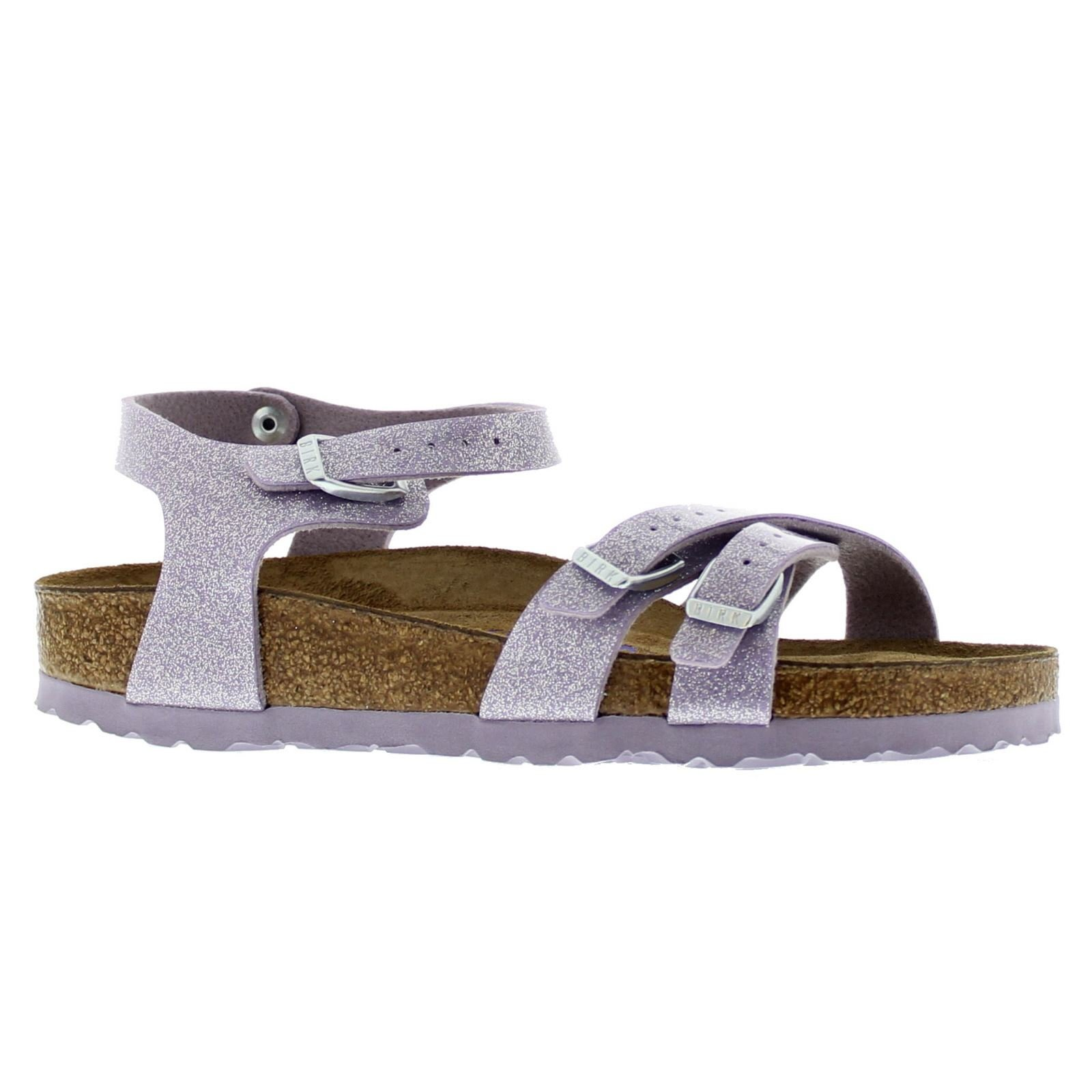 Birkenstock Womens Kumba Magic Galaxy Lavender Birko-Flor Sandals 41 EU