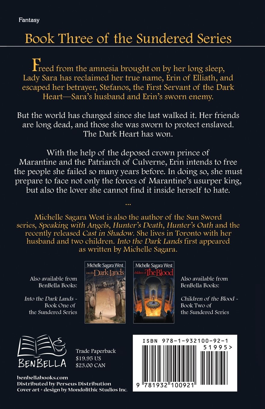 Lady Of Mercy (the Sundered, Book 3): Michelle Sagara West: 9781932100921:  Amazon: Books