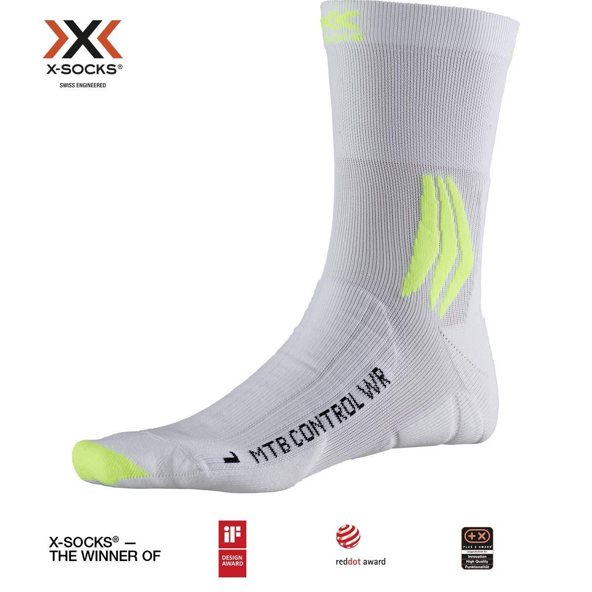 Unisex Adulto X-Socks Mountain Bike Control Water Resistant Socks