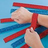 Fun Express Cowboy Western Slap Bracelets - 12 Piece Pack