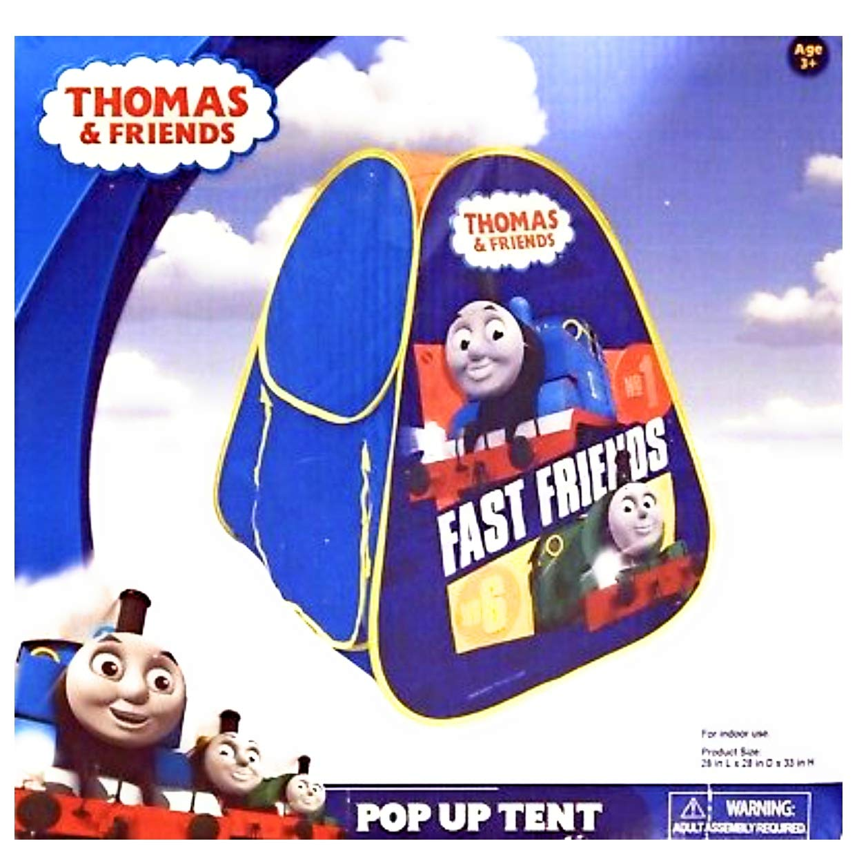 Hit Entertainment Thomas and Friends Pop Up Tent Kcare