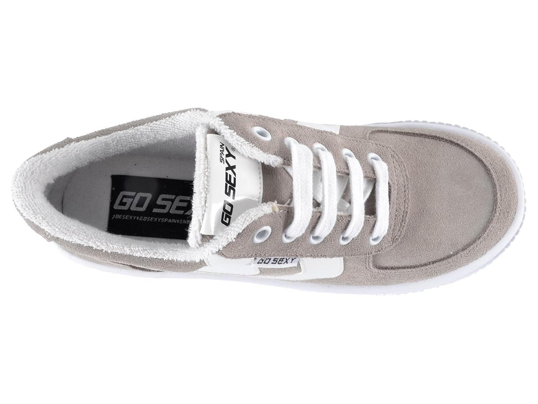 Go Sexy Damen  Surwave, Damen Sexy Sneaker Blau blau Nickelgrau 228a53