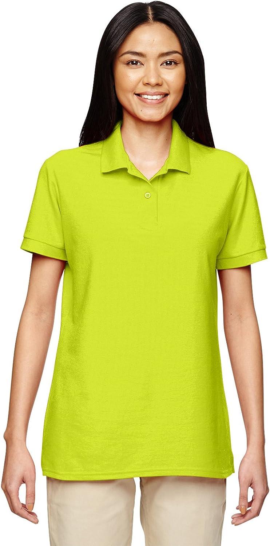 Gildan Women's Double-Needle Pique Polo Shirt