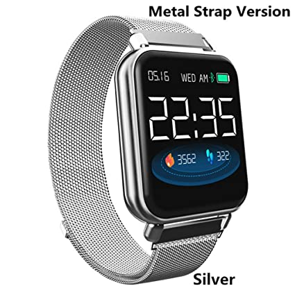 JingJingQi Reloj Inteligente Y6 Pro Smart Band IP67 ...