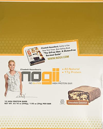 Nogii Chocolate Coconut High Protein Bar, 1.9 Ounce — 12 per case.