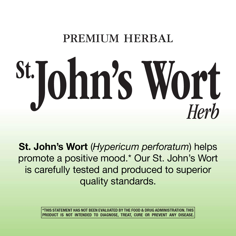 Amazon.com: Nature\'s Way St. John\'s Wort Herb 350mg, 180 VCaps ...