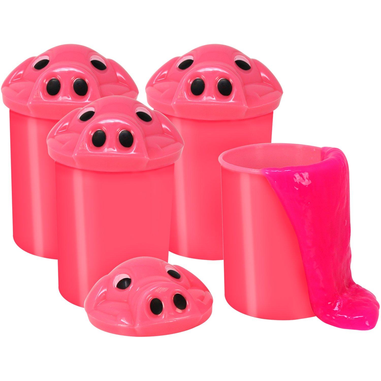com-four® 3X Schleim mit Pupsgeräusch in der Dose je 120 g (Set1)