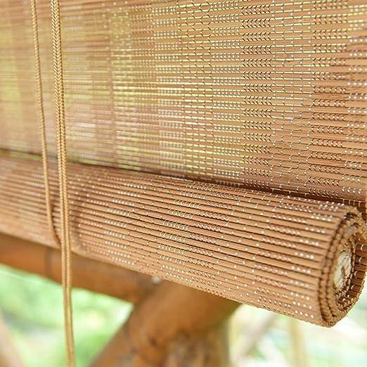 Persiana de bambú Cortinas/Persianas Exteriores para Exteriores ...