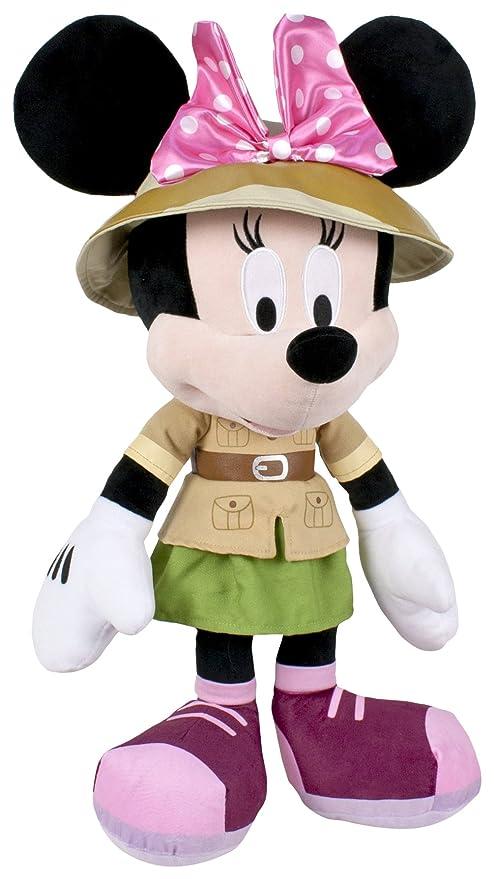 Famosa Softies - Peluche Minnie Safari, 20 cm 760014870