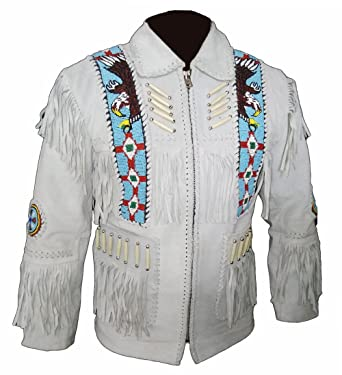 e751a3d45 Western Wear Native Men Fashion Native America Suede Fringes Jacket ...