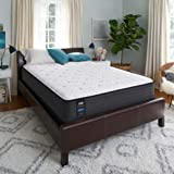 Sealy Response Performance 13-Inch Cushion Firm Eurotop Mattress, Twin, Made in USA, 10 Year Warranty