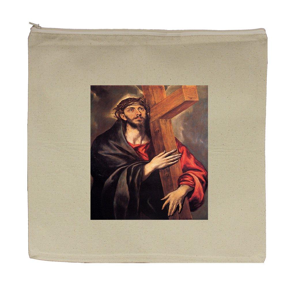 Christ As A Child (Unknown) Canvas Zipper Tote Bag Makeup Bag