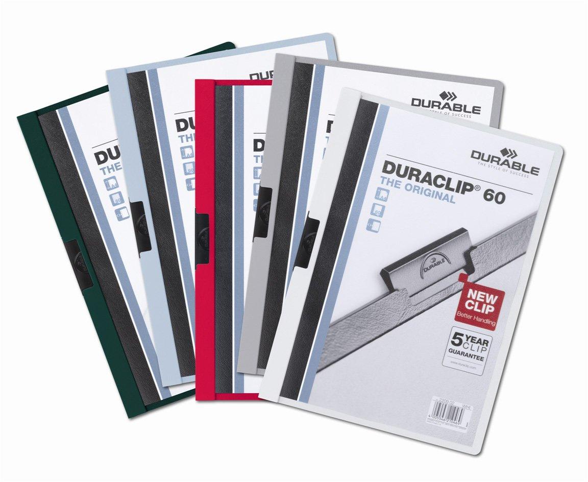 Blu Durable 2209-07 Cartella da 60 Fogli A4