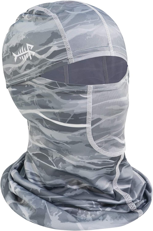 Bassdash UPF 50+ Balaclava Ninja Hood Mask UV Protection for Fishing, Hunting, Cycling, Kayaking
