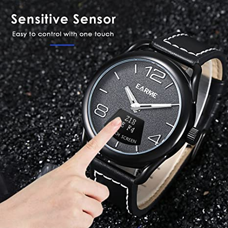 earme Z18 SmartWatch impermeable táctil Sensor de proximidad ...