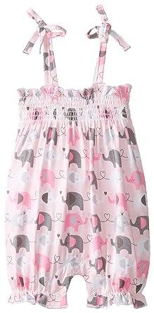 1784561a8a98 Mud Pie Baby-Girls Newborn Elephant Romper  Amazon.in  Clothing ...