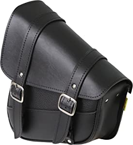 Dowco Universal Swing Arm Bag - 10.5in. x 11.5in. x 4.5in. - Black Synthetic Leather 59776-00