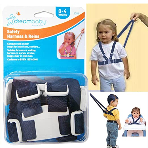 Amazon Com Dreambaby Safety Leash Harness Reins Baby Toddler