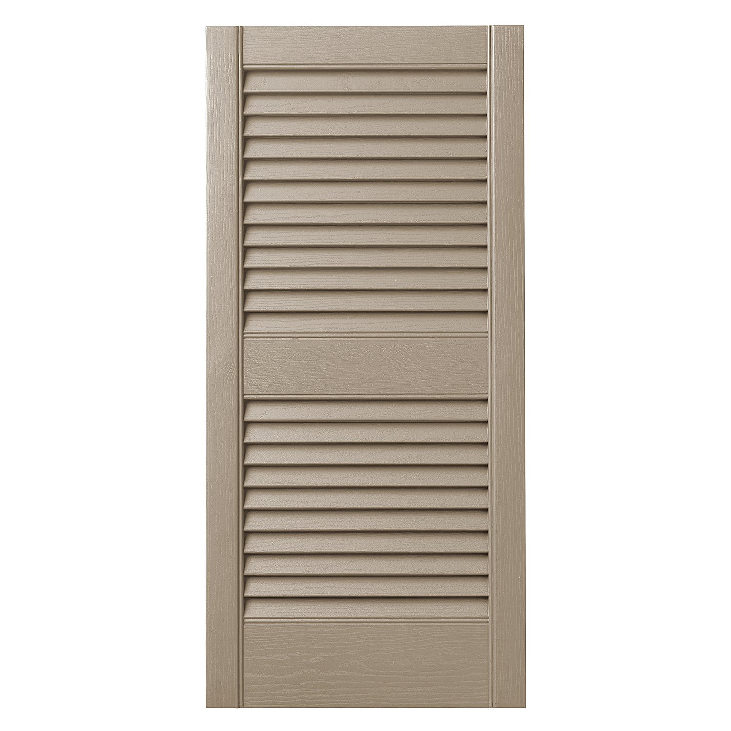 Ply Gem Shutters and Accents VINLV1525 52 Louvered