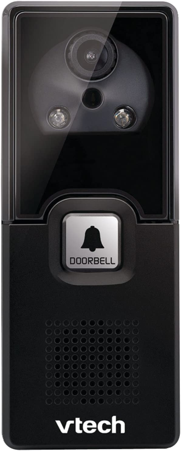 VTech IS741 Accessory Audio Video Doorbell Camera, Black Requires a VTech IS7121 Series Phone to Operate