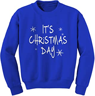 Expression Tees It's Christmas Day Crewneck Sweatshirt 2109-C-RB-XXL