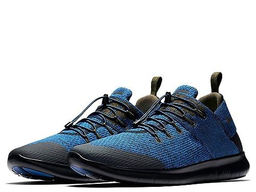Nike Hombre Gratis Rn Cmtr 2017 Premium Azul Jay Zapatillas Running AA2430 400 (UK 8.5