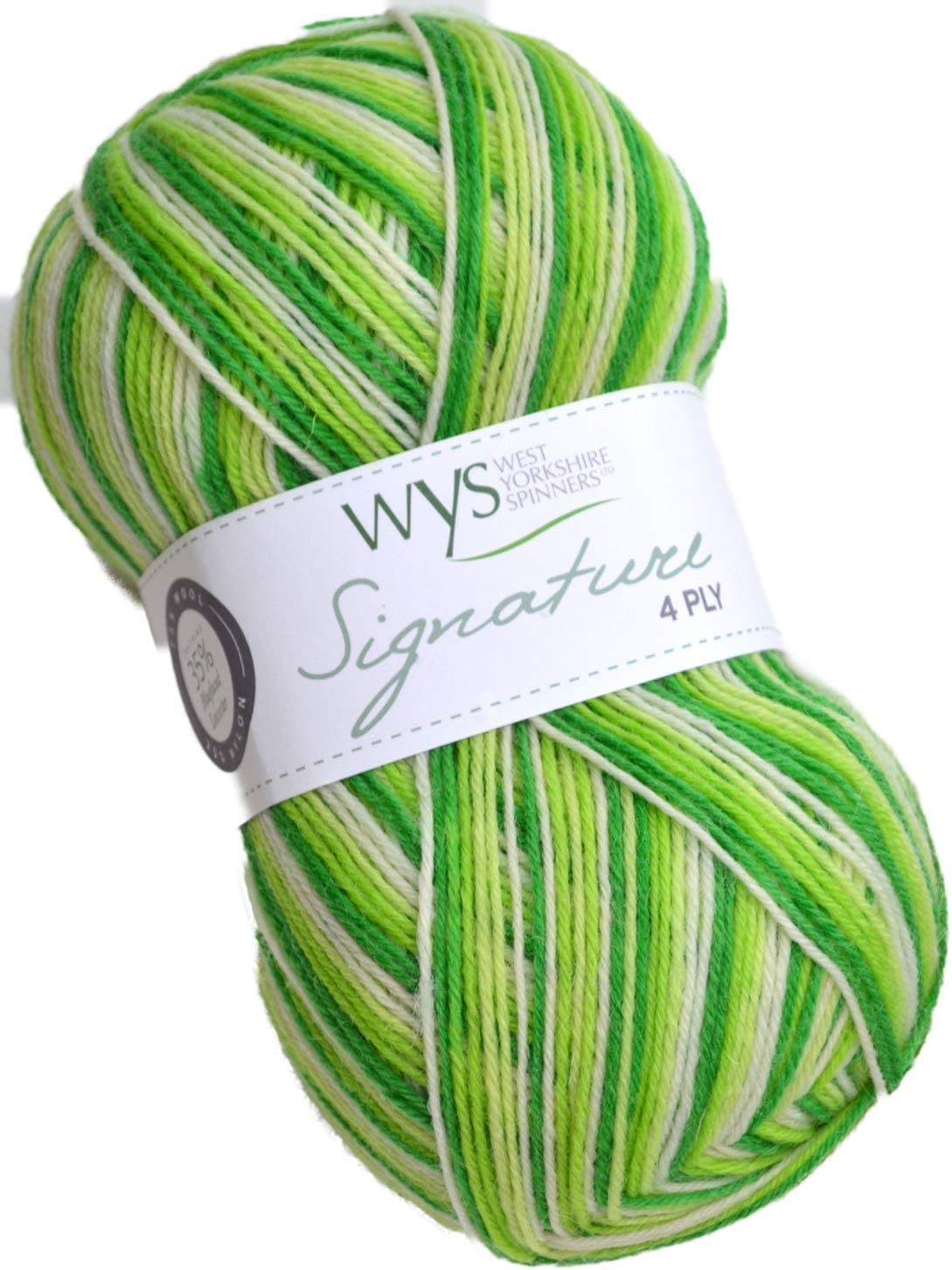 630 West Yorkshire Spinners Signature 4 Ply Yarn Wool 100g Nutmeg
