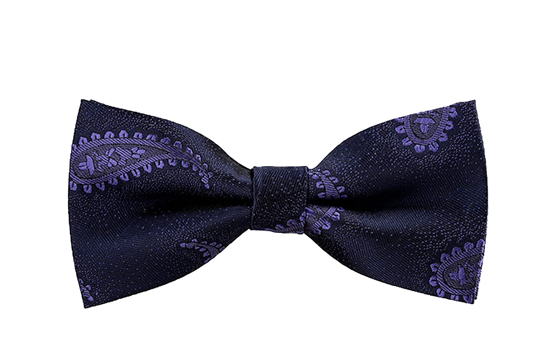 Juns store Corbata de moño para hombre, diseño de lunares B19 ...