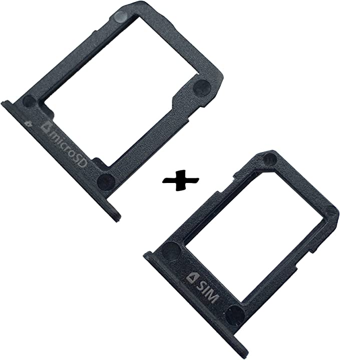 New EagleStar Replacement for Samsung Galaxy Tab S2 T810 SM-T810 T815 T817 T818 SIM Tray Micro SD Card Slot Memory Tray Holder-Black