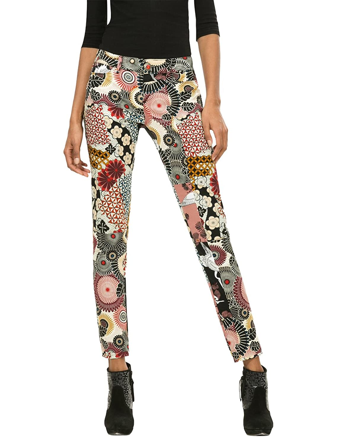 Desigual Womens' Pants Suave, Sizes XS-XL