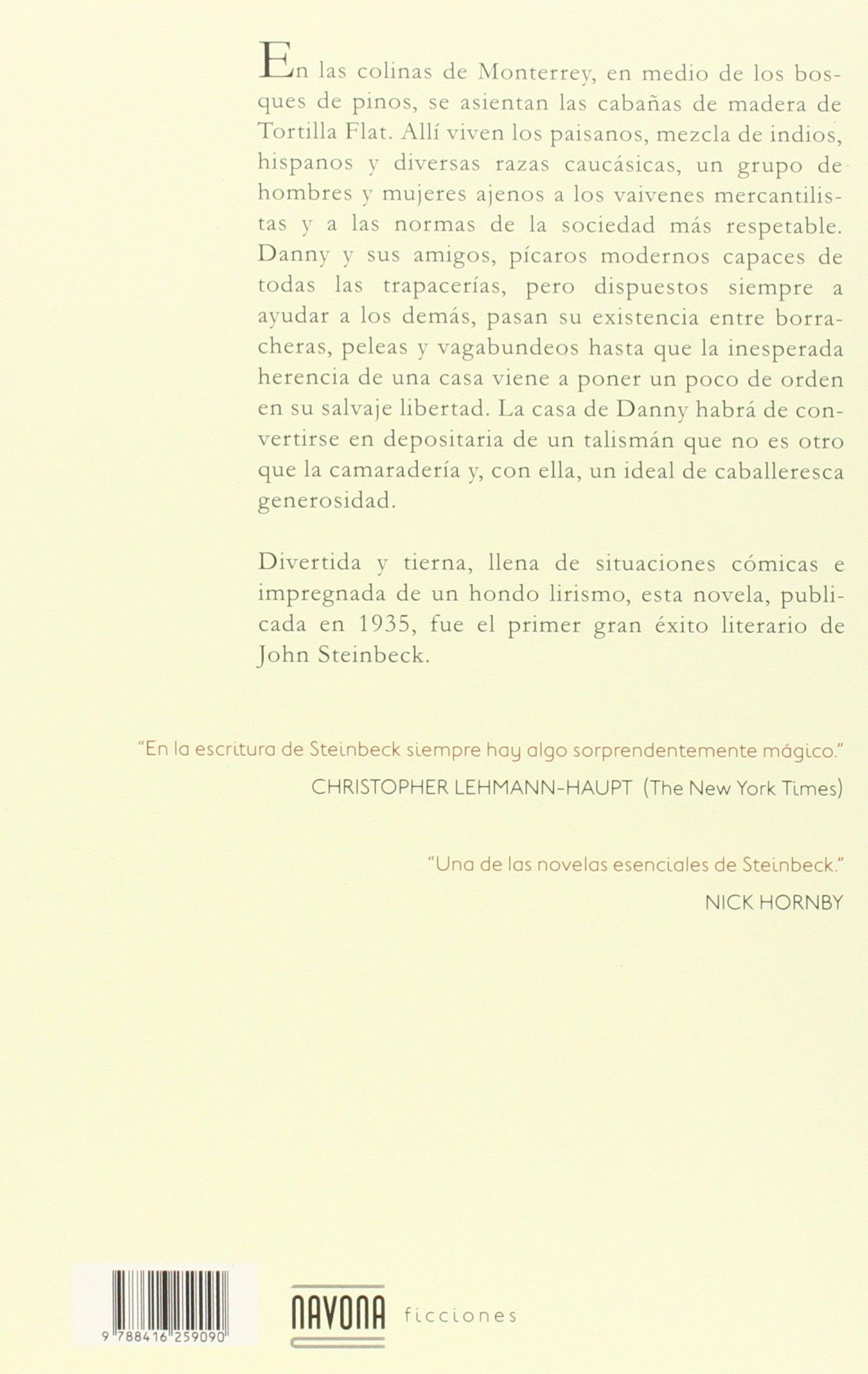 Tortilla flat (Navona Ficciones): Amazon.es: Steinbeck, John: Libros