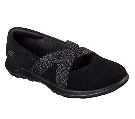 Walk Negro es Zapatos Cherished Amazon Go Bbk Lite 15404 Skechers Twpaqf