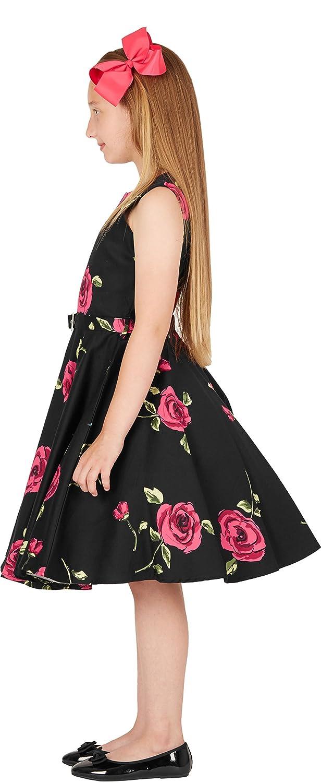 BlackButterfly Kids Audrey Vintage Infinity 50s Girls Dress