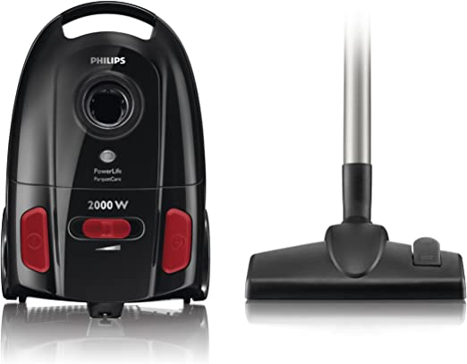 Philips FC8454/01 PowerLife - Aspirador con bolsa (2000 W): Amazon ...