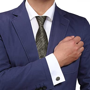 72fcdaa3e464e Y&G YAM0614006 Multi-Color Designer Ties Men Relax Tie Set Silk Ties For  Men 2PT