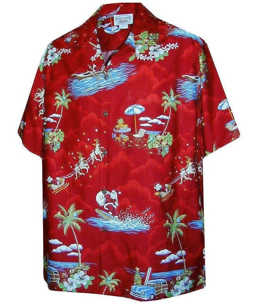 christmas santa claus hawaiian shirt at amazon men u0027s clothing