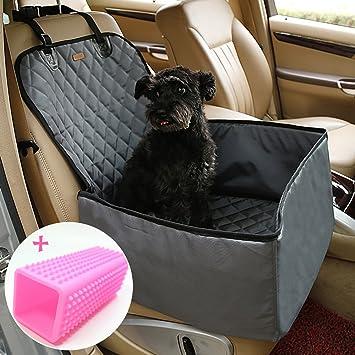 IvyLife Seggiolino Auto per Cane Coprisedile per Cane Animale Borsa Anteriore Singolo Coperta Telo per Proteggere Sedile di Automobile Impermeabile