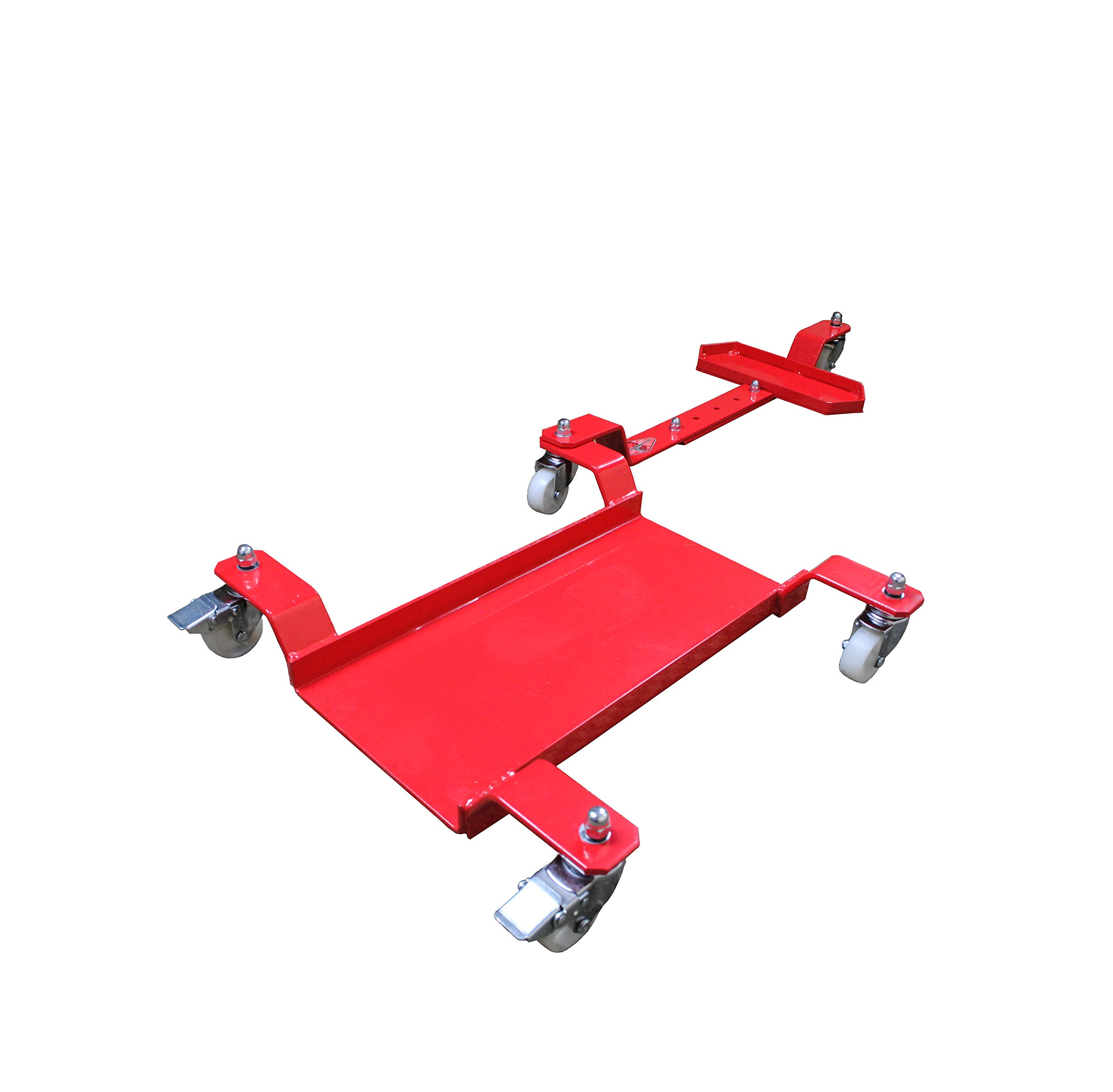 Big Horn Motorcycle Dolly | Generation 2 Low Profile Design | 1250 LBS Capacity | Adjustable For Sports Bikes Or Cruisers by Big Horn (Image #4)