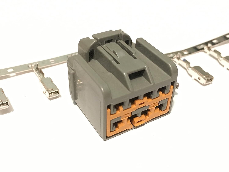 Pink Anchor Design American Shifter 44720 Orange Metal Flake Shift Knob with 16mm x 1.5 Insert