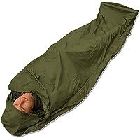 Andes - Biwaksack/Hülle für Schlafsack - Wasserdicht - Für Camping/Angelausflüge - Olivgrün