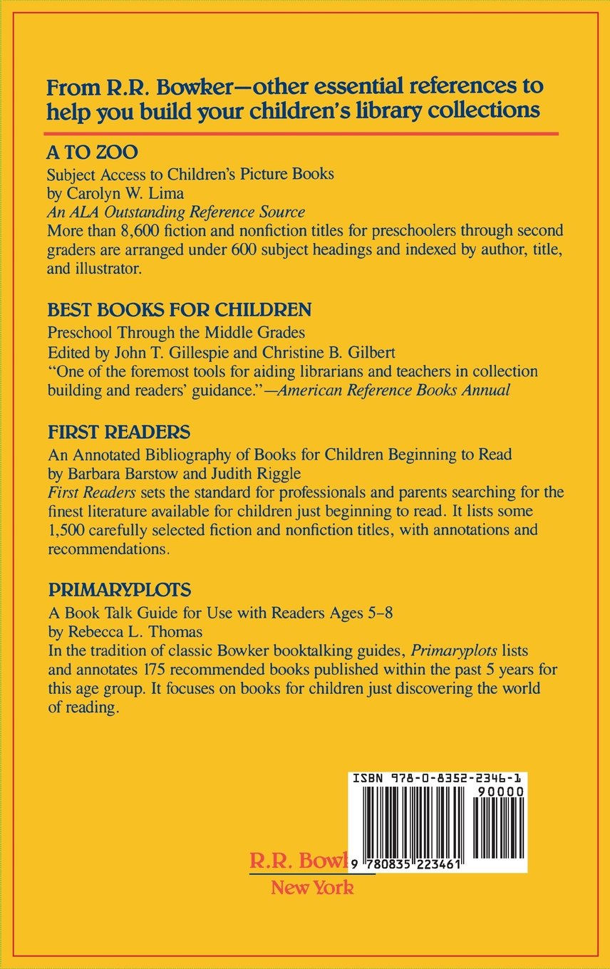 Books For Children To Read Alone: A Guide For Parents And Librarians:  George Wilson