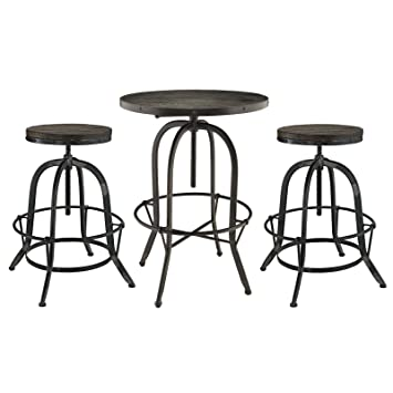 Prime Amazon Com Modway Gather Industrial Modern Rustic Unemploymentrelief Wooden Chair Designs For Living Room Unemploymentrelieforg
